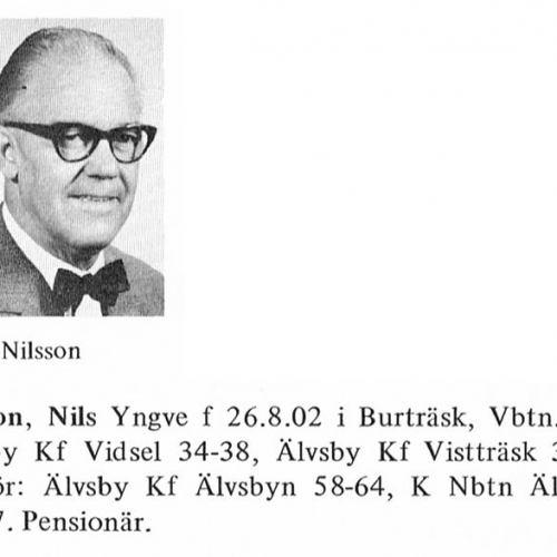 Nilsson Nils 19020826 Från Svenskt Porträttarkiv