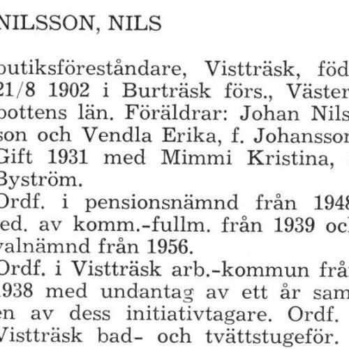 Nilsson Nils Älvsby Landskommun 1957