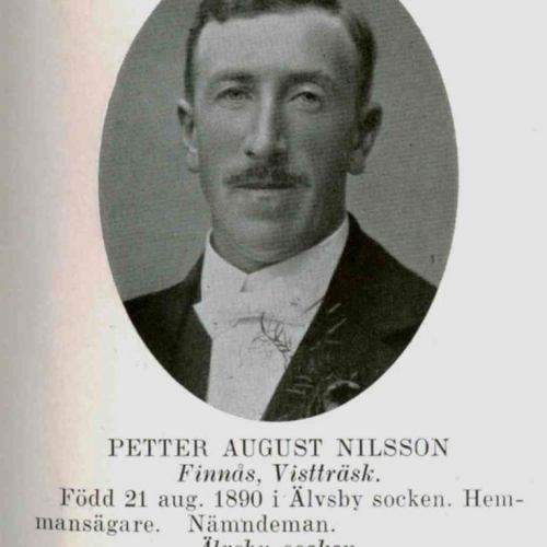 Nilsson Petter August Finnäs Vistträsk
