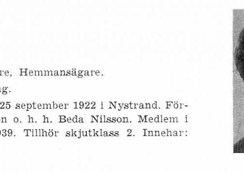 Nilsson Sten-Sture 19220925 Från Svenskt Porträttarkiv