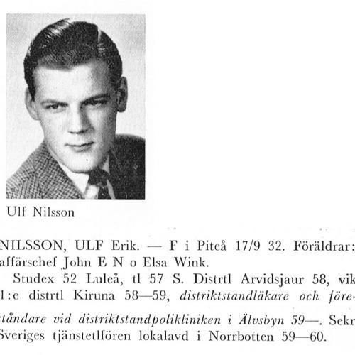 Nilsson Ulf 19320917 Från Svenskt Porträttarkiv