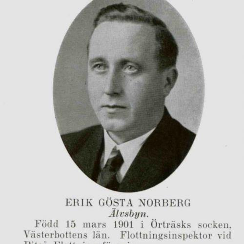 Norberg Erik Gösta Älvsbyn