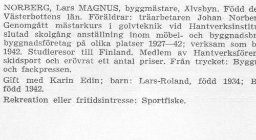 Norberg Magnus 18990819 Från Svenskt Porträttarkiv