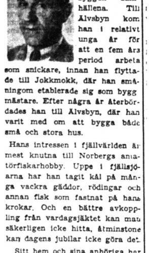 Norberg Magnus Älvsbyn 50 år 15  Aug 1949 PT
