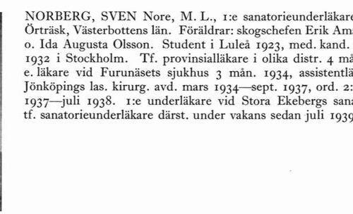 Norberg Sven 19040925 Från Svenskt Porträttarkiv