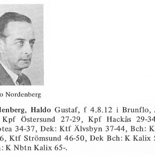 Nordenberg Haldo 19120804 Från Svenskt Porträttarkiv