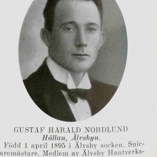 Nordlund Gustaf Harald Hällan Älvsbyn