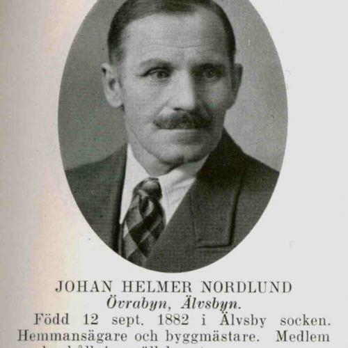 Nordlund Johan Helmer Övrabyn Älvsbyn