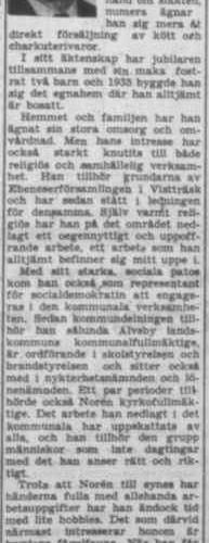Norén Einar Vistträsk 50 år 14 Juni 1957 PT