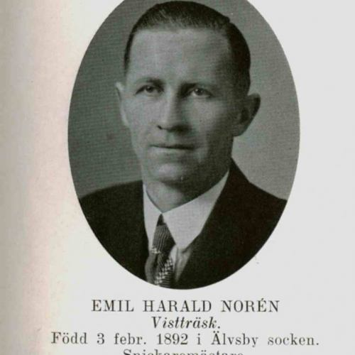 Norén Emil Harald Vistträsk