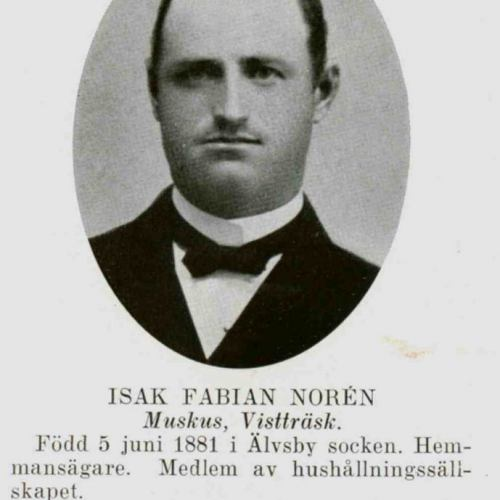 Noren Isak Fabian Muskus Vistträsk