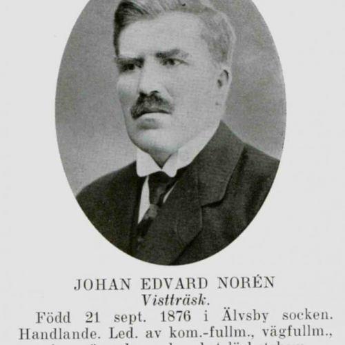 Noren Johan Edvard Vistträsk