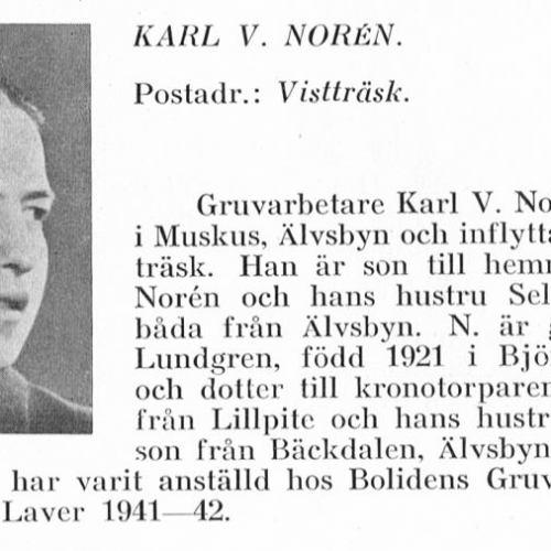 Norén Karl 1918 Från Svenskt Porträttarkiv