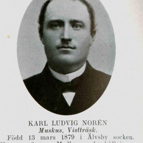 Norén Karl Ludvig Muskus Vistträsk