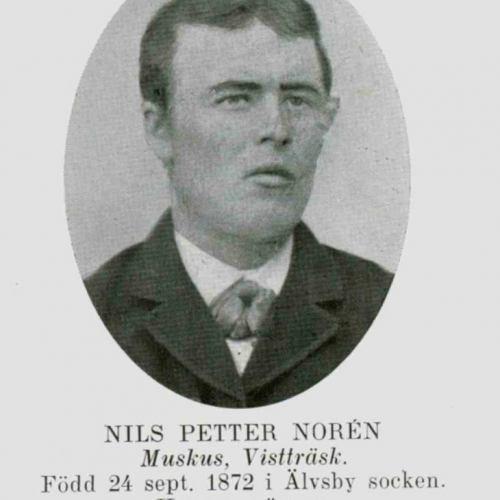Norén Nils Petter Muskus Vistträsk