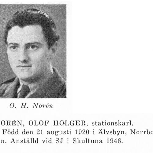 Norén Olof 19200821 Från Svenskt Porträttarkiv