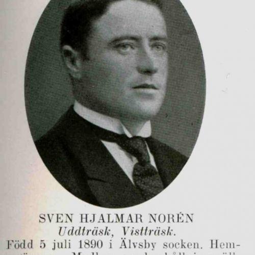 Noren Sven Hjalmar Uddträsk Vistträsk