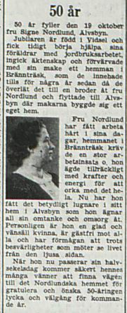 Norlund Signe 50 år 17 Okt 1953 PT