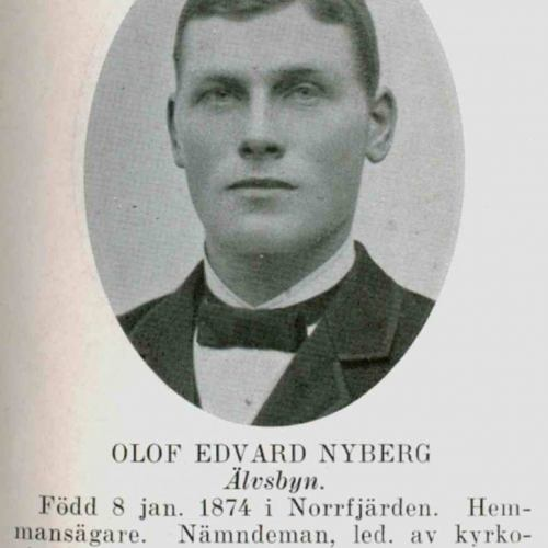 Nyberg Olof Edvard Älvsbyn