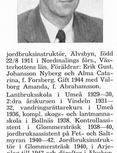 Nyberg Sven 19110822 Från Svenskt Porträttarkiv
