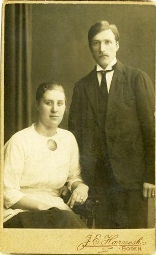 Hanna Persson och Petter Lidman
