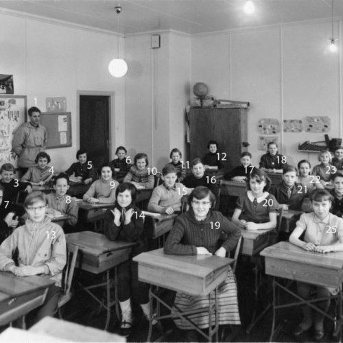 1954 klass 6 Lillkorsträsk