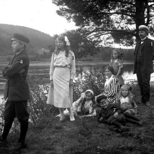Familjen Engelmarks utflykt till Selholmen