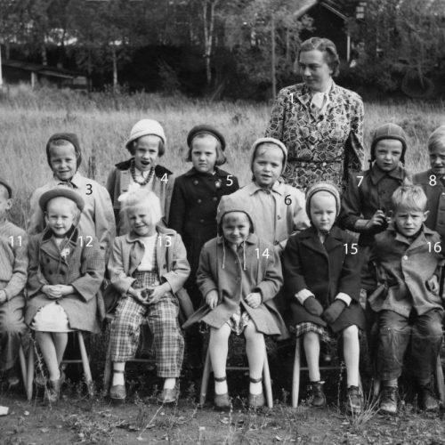 1952 Kindergarten, Lekskolan