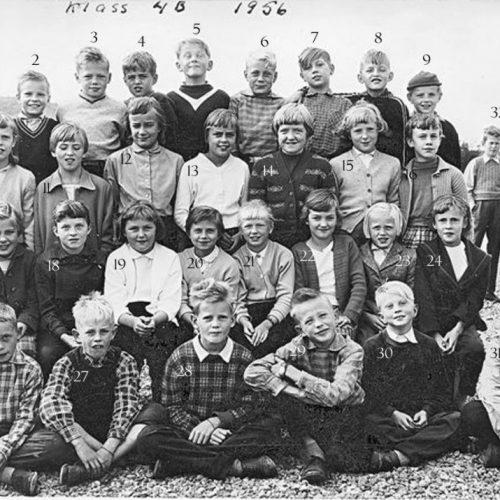 1956 Klass 4 B