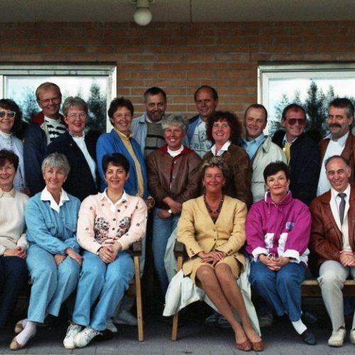 1991-06-01 Klass återträff 30 år efter Realexamen träffades klasskamraterna igen