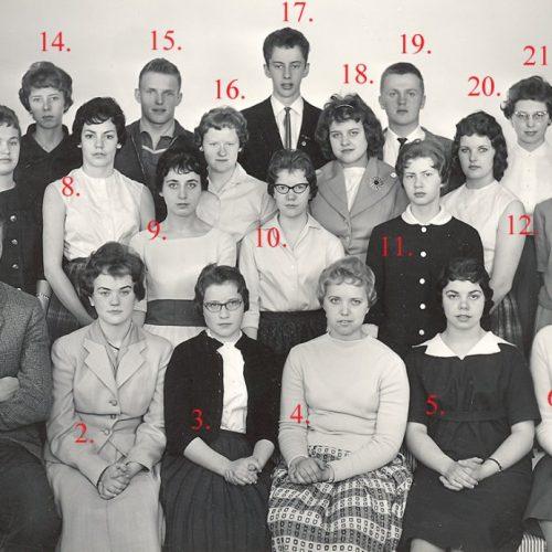 1958 Handelsskolan