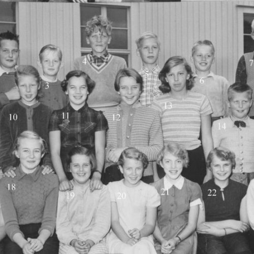 1954 Klass 6 A