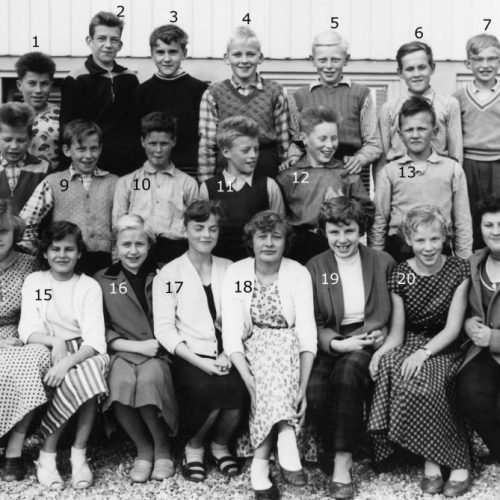 1958 Klass 7 B