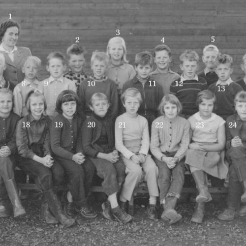 Skol klass i Älvsbyn, men vilket år och vilken klass?