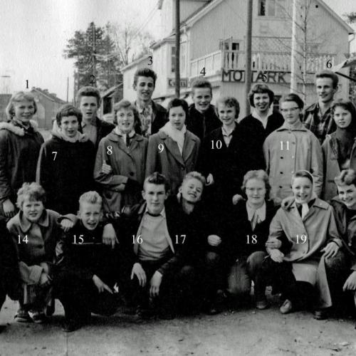 1959 Klass 4 A strax innan realexamen