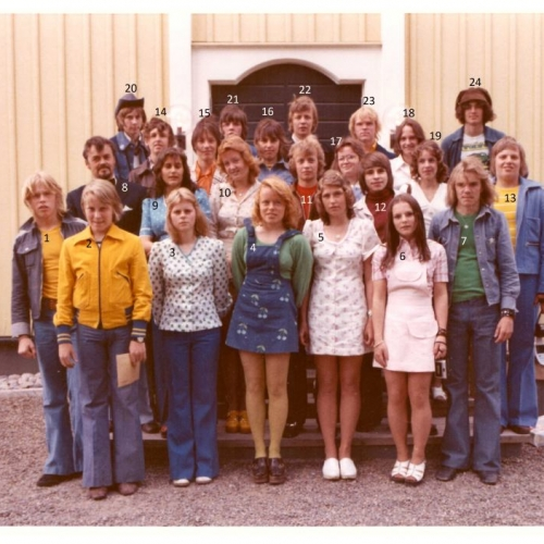 9D Älvåkraskolan 1973