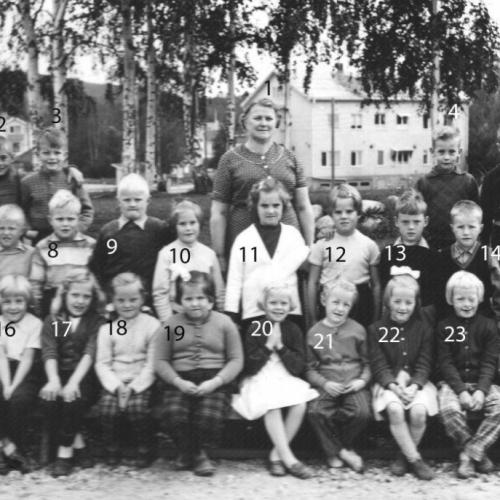 1957 Klass 1 A