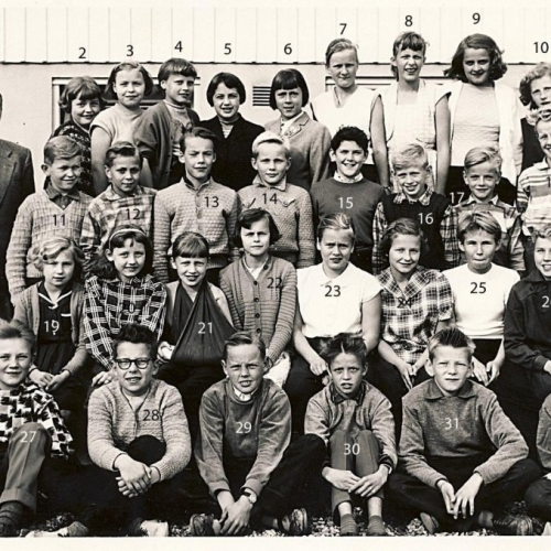 1956 Klass 6 B