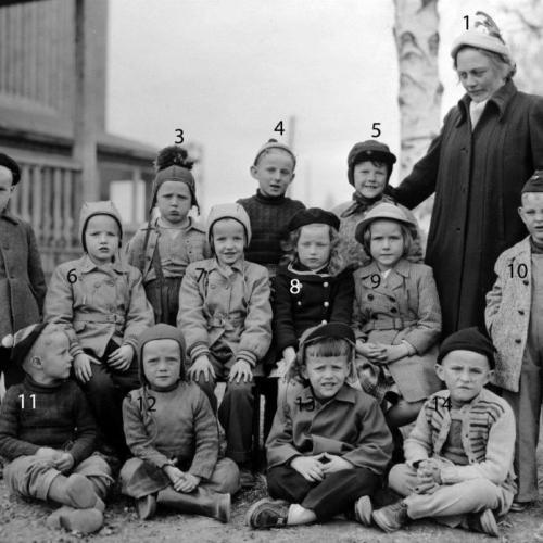 1953-1954 Lekskolan i Älvsbyn