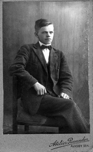David Artur Lundberg f.1903-03-21 Stockfors