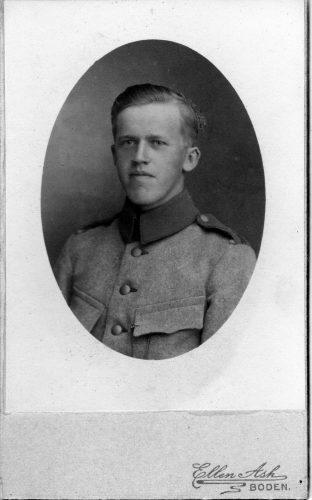 John* William Lundberg f.1901-10-04 Stockfors