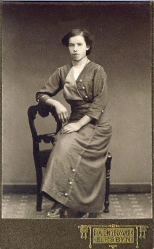 Miriam* Alida Lundberg 1895-12-31 Stockfors