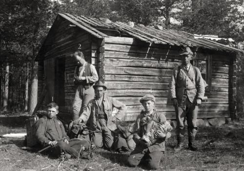 Bild från indelningen av skog 1922 i Stockfors