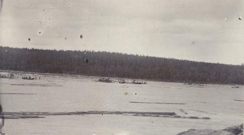 Flottare i båtar
