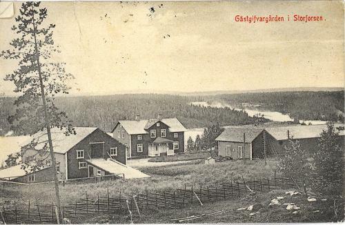 Storforsens Gästgifaregård 1908