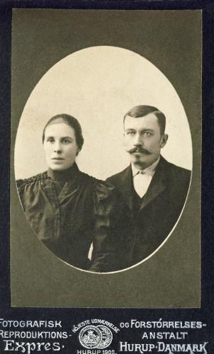 Hilda Björk och August Strand
