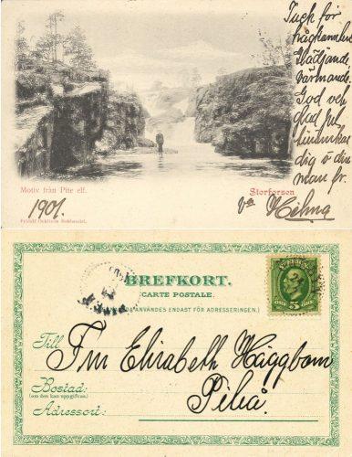Storforsen 1901