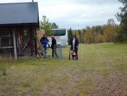Studiebesök i Sikfors