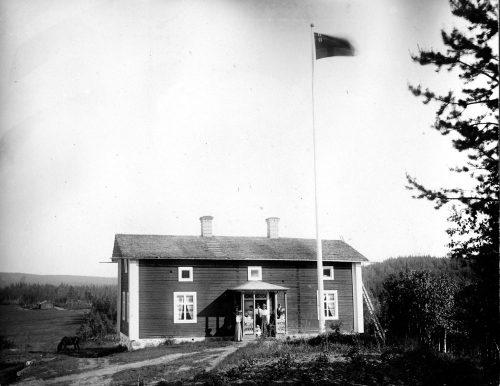 Carl Pontus Öbergs hus i Tällberg byggdes 1863.