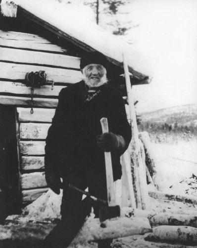 """""""Tällberg gubben"""" Johan Eric Eriksson"""